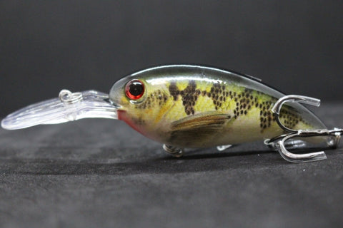 wLure 14.2g 10.2cm Crankbait Jerkbait RealSkin Painting Slow Floating Wide Wobble Hard Bait Fishing Lure Quality Hooks HC55