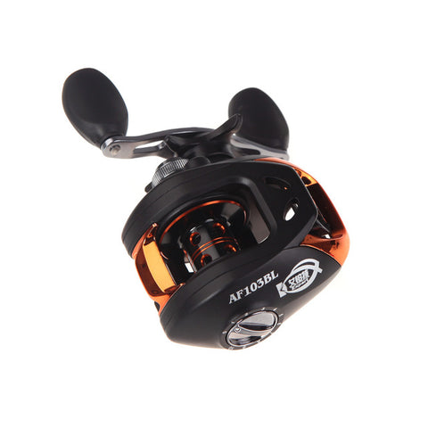 Lixada 10+1BB Left/Right Baitcasting Fishing Reel 6.3:1 Bait Casting Fishing Reels For Carp Fishing Carretilhas Pesca AF103