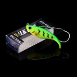 WALK FISH 1PCS 8cm 21.4g Fake Fish Lure Anti Grass Fishing Wobbler Artificial Bait Hard Lures Laser Body Lifelike Fish Tackle