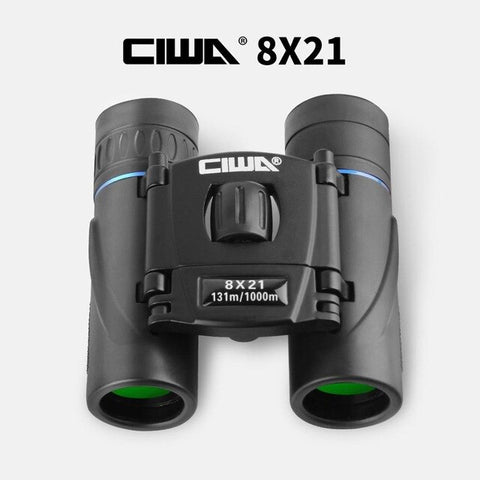 CIWA Binoculars 8x21 Monocular vision king Professional telescopic Binoculars Hunting Outdoor Sports wildlife climbing Telescope