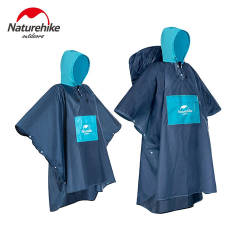 Naturehike Raincoat Raincoat for Men Women Waterproof Rain Coat Outdoors Travel Camping Fishing Rain wear Suit poncho