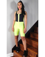 Load image into Gallery viewer, Neon Vibes Biker Shorts