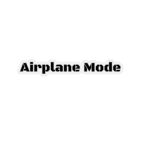 AIRPLANE MODE STICKER