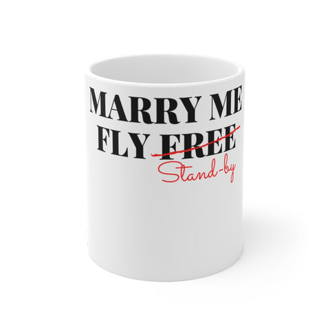 MARRY ME FLY FREE MUG