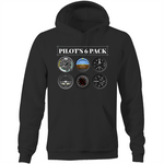 PILOT'S SIX PACK - POCKET HOODIE SWEATER