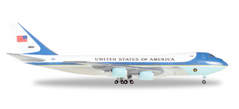 "1:500 United States Boeing 747-200 ""Air Force One"" - Premium Metal Diecast"