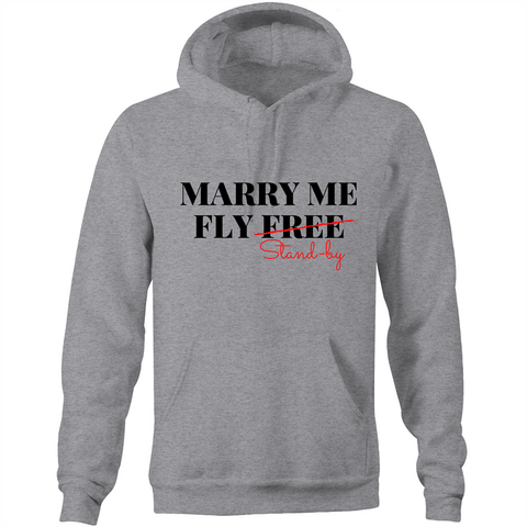 MARRY ME - POCKET HOODIE SWEATER