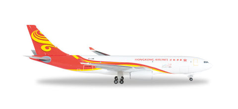 1:500 Hong Kong Airlines Cargo Airbus A330-200F -Premium Metal Diecast
