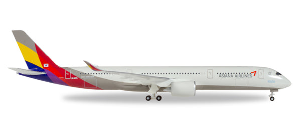 STICKER AUTOCOLLANT AIRBUS A350-900 ASIANA AIRLINES