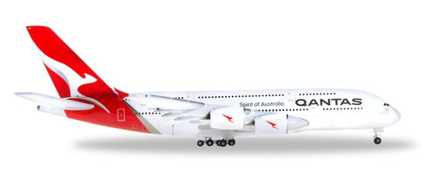 1:500 Qantas Airbus A380 - new colours - Premium Metal Diecast