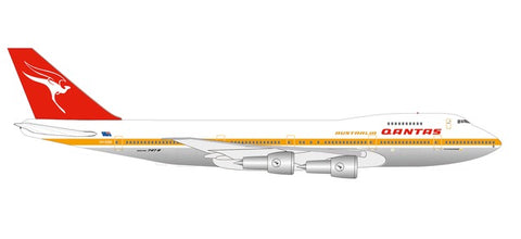 "1:500 Qantas Boeing 747-200 - Centenary Series - ""City of Melbourne"" - Premium Metal Diecast"