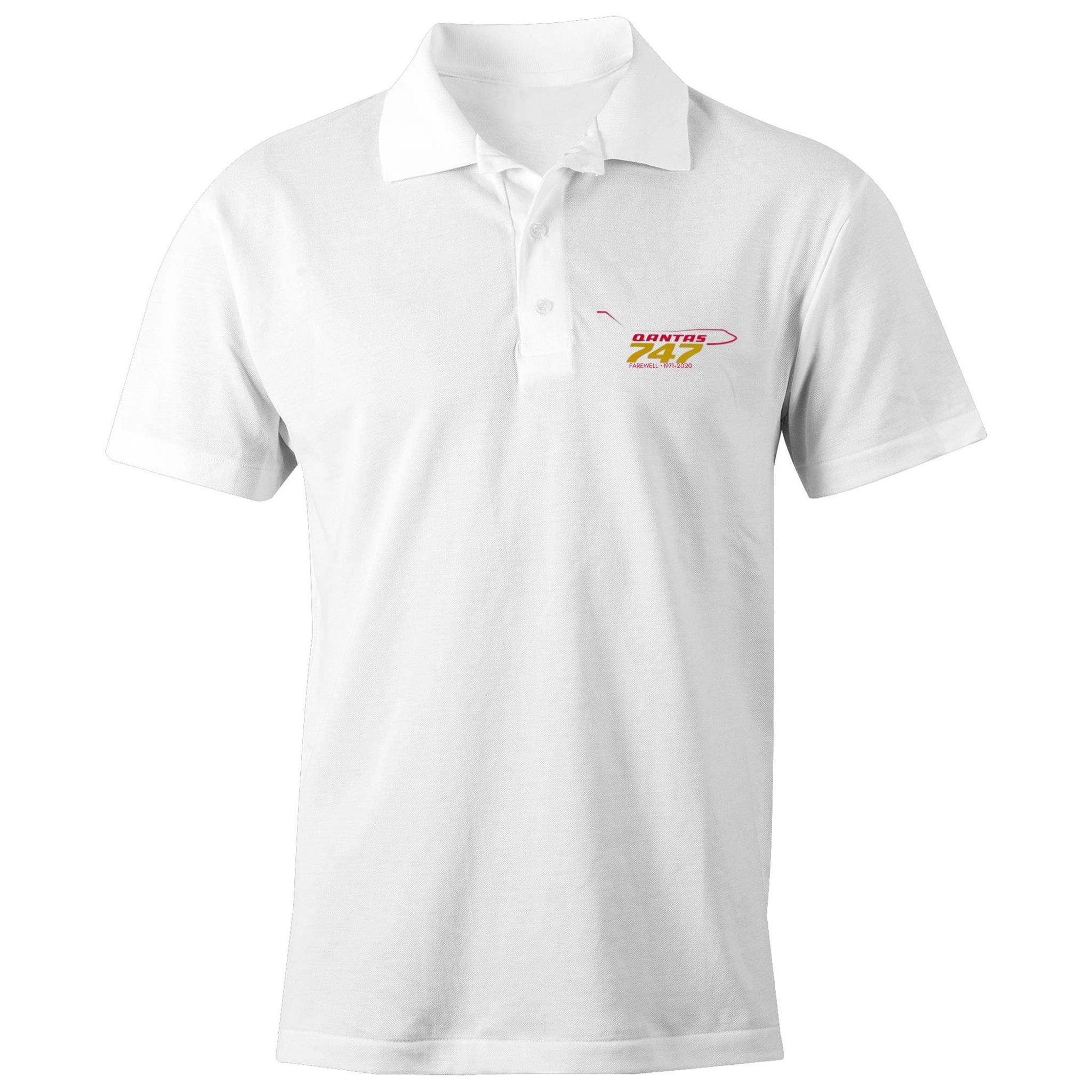 747 FAREWELL - AS Colour Chad - S/S Polo Shirt