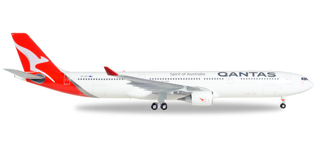 1:200 Qantas Airbus A330-300 - new colors Premium Diecast Model