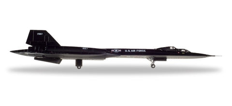 1:200 U.S. Air Force Lockheed SR-71B Blackbird - Metal Diecast