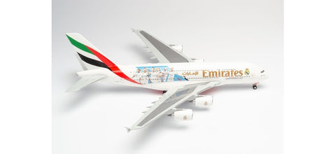 "1:200 Emirates Airbus A380 ""Real Madrid"" - Premium Diecast model"