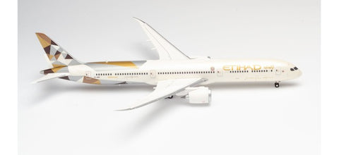 1:200 Etihad Airways Boeing 787-10 Dreamliner Premium Diecast Model