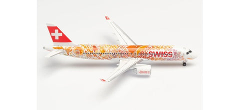 "1:400 Swiss International Air Lines A220-300 ""Fête des Vignerons"" Metal Diecast"