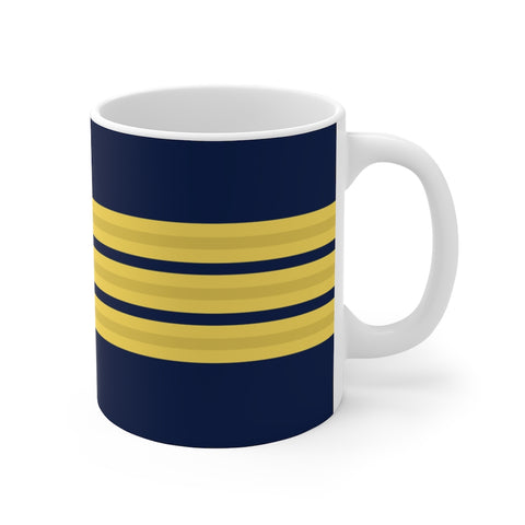 PILOT 3 GOLD STRIPES MUG
