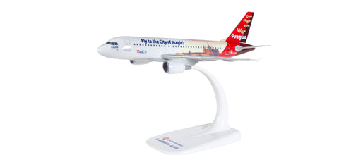 "1:200 CSA Czech Airlines Airbus A319 ""Prague - City of Magic"" Snap-Fit"