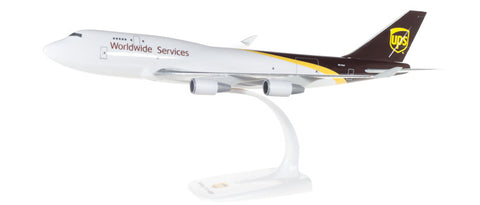 1:250 UPS Airlines Boeing 747-400 Snap-Fit
