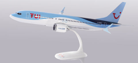 1:100 TUI fly Germany Boeing 737 MAX 8 Snap-Fit