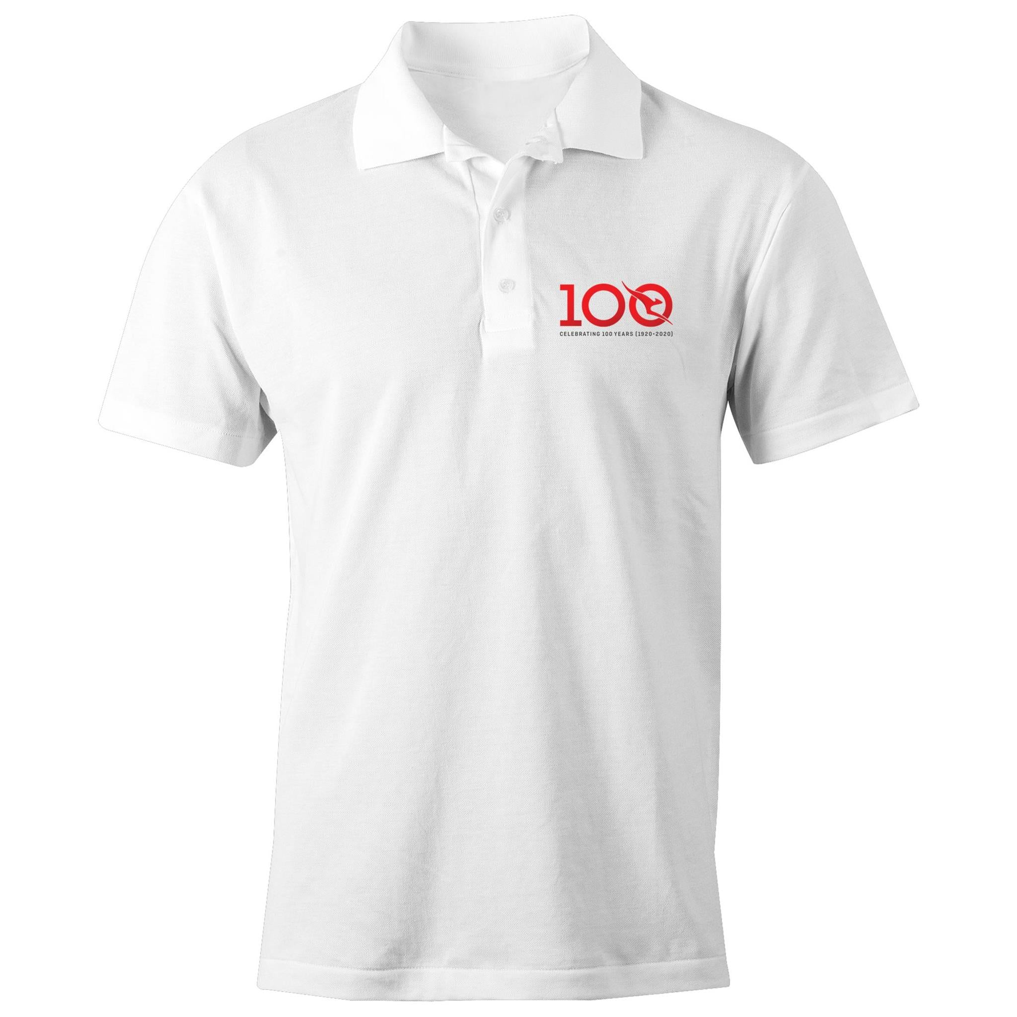 QANTAS 100 Years - AS Colour Chad - S/S Polo Shirt