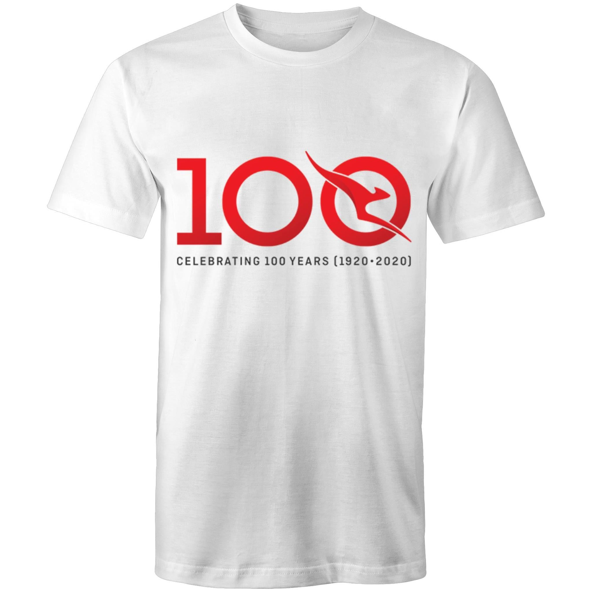 QANTAS 100 - AS Colour Staple - T-Shirt