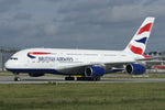 1:250 British Airways Airbus A380-800 Snap-Fit