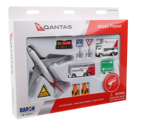 Daron - Qantas Realtoy Airport Play Set - Large
