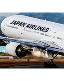 BOEING 777-346 JAPANESE AIRLINES PLANETAG TAIL #JA8943