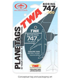 Trans World Airlines (TWA) 747-100 By PlaneTags