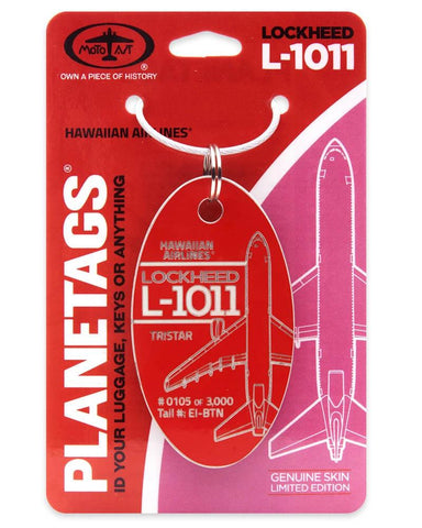 LOCKHEED L-1011 HAWAIIAN AIRLINES® - PLANETAG TAIL #EI-BTN