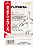*Red & White Available* QANTAS BOEING 747-400 - PLANETAGS TAIL #VH-OJP