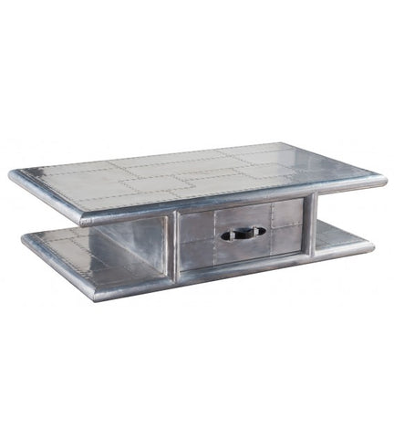 AVIATOR COFFEE TABLE ALUMINIUM