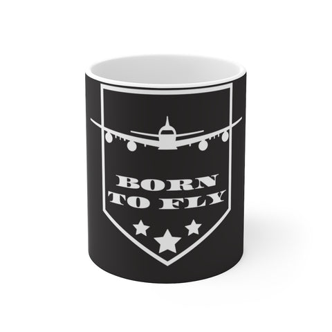 BORN TO FLY MUG