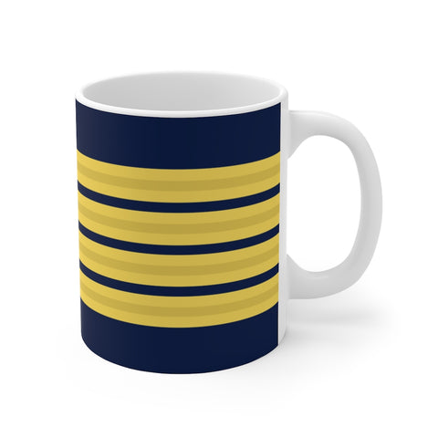 PILOT 4 GOLD STRIPES MUG