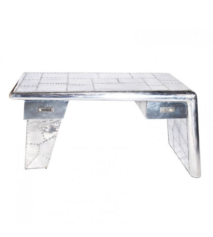 AVIATOR WING OFFICE DESK ALUMINIUM