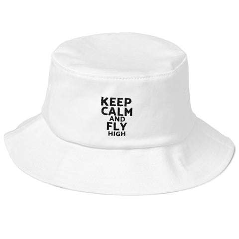 KEEP CALM BUCKET HAT