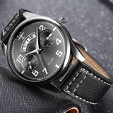 Exclusive Leather Pilot Watch by Hannah Martin