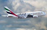 "1:250 Emirates Airbus A380 ""Real Madrid (2018)"" Snap-Fit"