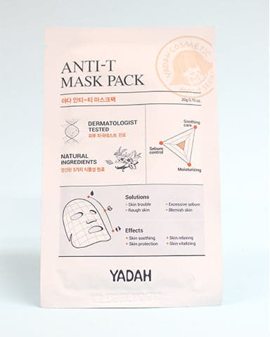Anti-T Mask Pack (1 sheet)