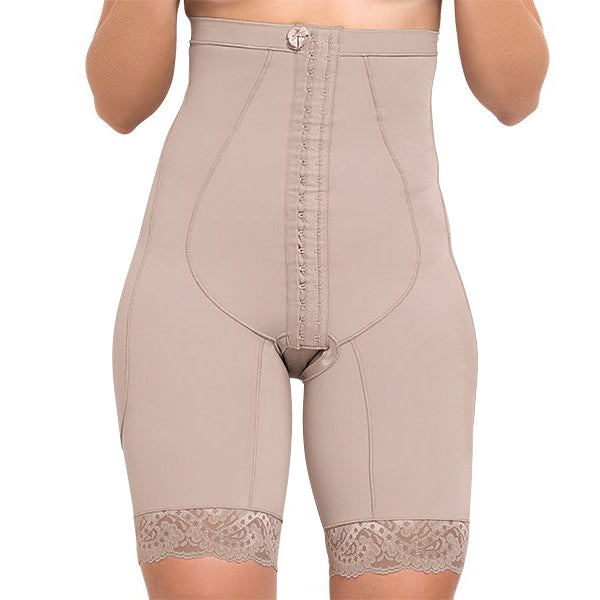 336308384aa40 Model 4000 - Precious Firming Body Shaper w Mid Thigh Length   Adjustable  Straps