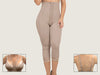 Model 4004CP - Exquisite Invisible Toning Capri Length Body Shaper With Thighs/Legs Slimmer & Adjustable Straps