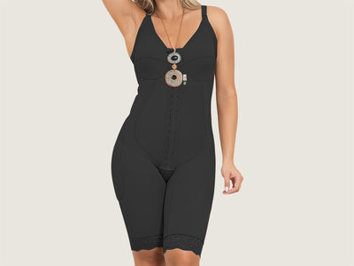 Model 4006 - Lovely Invisible Firming/Toning Post-Operative Full Bodysuit Shaper w/Thighs Slimmer