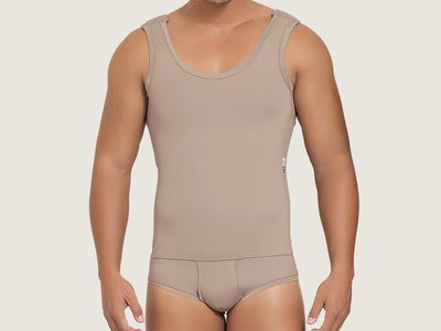 Model 4018 - Exceptional Invisible Slimming/Toning Torso/Abdominal Bodysuit Shaper w/Briefs
