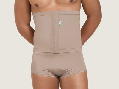 Model 4019M - Undetectable Post-Operative Slimming/Toning Torso Abdominal/Waist Shaper