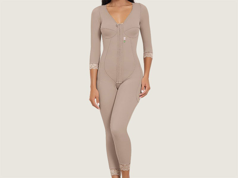 34bf93d0970fe Model 4034 - Stunning Slimming And Toning Post-Operative Full Bodysuit  Shaper w Thighs