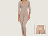 Model 4034F - Invisible Slimming Post-Op Brazilian Butt Lift Full Body Shaper w/Thighs/Leg Slimmer