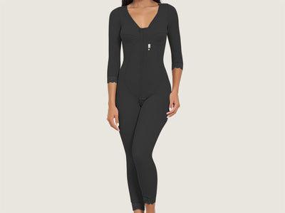 Model 4034 - Stunning Slimming And Toning Post-Operative Full Bodysuit Shaper w/Thighs/Leg Slimmer