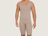 Model 4046 - Divine Invisible Toning/Slenderizing Bodysuit Shaper Support w/Thighs Slimmer